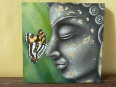 Buddha and the butterfly
