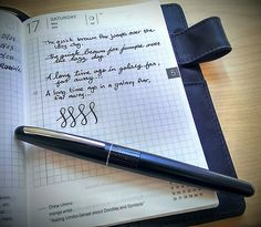 A great review of the Pilot Metropolitan fountain pen. However, I recommend the Staetdler brand fountain pens, especially for beginners. Not only do they offer great ink flow, they come with a variety of nibs to be attached to the pen, allowing for lots of varied practice. The pens, as a set, are also quite cheap, coming in around $20.