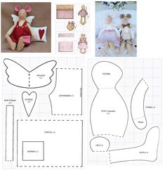 pattern for mouse angel