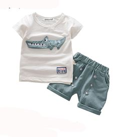 Baby Boys Clothes 2019 Summer Style Beach Star Tree Print Casual Sport Suit 2pcs Sets T Shirt Shorts Baby Girls Clothes Set We Take Customers As Our Gods Boys' Clothing Clothing Sets
