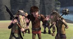 RTTE   Hiccup   Tuffnut   Ruffnut