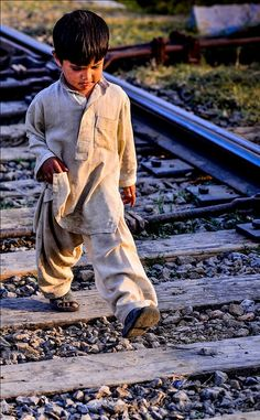 Taking life in a stride by ShaukatNiazi We Are The World, People Of The World, Precious Children, Beautiful Children, Beautiful Eyes, Beautiful World, Taking Lives, Kid Character, World Of Color