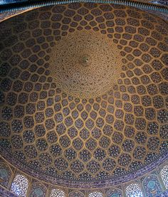 Sheik Lotfallah Mosque (1618) in Esfahan, Iran Safavid Surfaces and Parametricism | Features | Archinect
