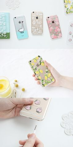 Protective, functional, and also beautiful! The Transparent Pattern iPhone 6/6S Hard Case keeps the stylish design of your iPhone and adds wonderful illustrations on the back.