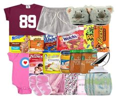 """""""My baby is sick"""" by haraj-uku ❤ liked on Polyvore featuring FRUIT, H&M, Hello Kitty, Circo, Gerber, Philips and Mamas & Papas"""