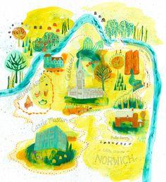 Sharon Farrow - Norwich Map