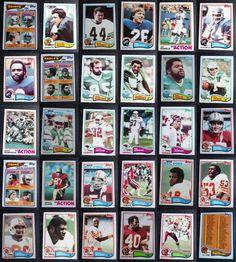 1982 Topps Football Cards Complete Your Set You U Pick From List 401-528 Football Cards, Baseball Cards, Eagles Team, Team Leader, Ebay, Soccer Cards