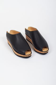 Olga Clogs, Black