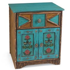 soutwest style painted furniture | ... Furniture-Old Hickory Furniture-Rustic Ranch Style Furniture