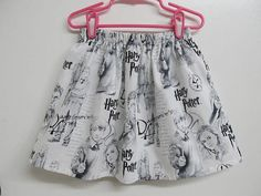 Harry Potter Children's Skirt  Sizes 4T and 5 Only