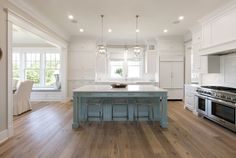 blue cabinets kitchen fixer a contemporary update for a family sized 1722