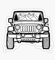 212 best jeep wish list images in 2019 jeep truck jeep jeep cars Jeep YJ Interior Mods explore dream discover sticker by tmckaydesigns