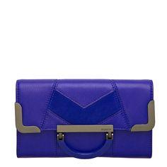 Feminine details meet clean minimalist lines in our Beatrix Kiddo Large Wallet. Large Wallet, Colorful Decor, Messenger Bag, Fashion Online, Satchel, Cobalt, Muse, Wallets, Online Shopping