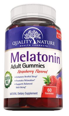Melatonin Gummies for Adults: 4 Additional Benefits while Coping with Insomnia