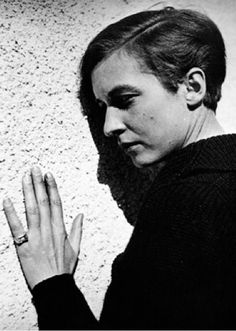 Annemarie Schwarzenbach (1908-1942) - Swiss writer, journalist, photographer and traveler. Photo Marianne Breslauer, 1938