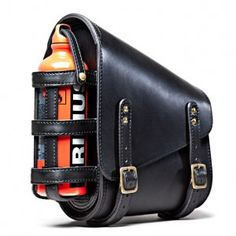 Zero Engineering® Hardtail motorcycle Saddle Bag - Primus bottle for water or fuel...not both!