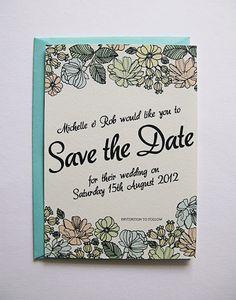 DIY Printable wedding stationery from our Chloe range.