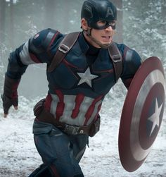 We visit the Avengers: Age of Ultron set and talk to Chris Evans about Captain America's new enemy.