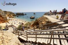 Praia Dona Ana. Algarve, Portugal Foto: Priscila Roque/ Cultuga