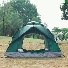 Instant Pop Up Camping Tent Family 2-4 Person Auto Tent Waterproof – Reactive Outdoor Pop Up Camping Tent, Best Tents For Camping, Backyard Camping, Cool Tents, Pickup Camping, Camping Items, Camping Supplies, Camping Stuff, Outdoor Camping