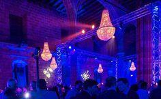 iluminacion Evento Qualcomm MWC2016 BCN.
