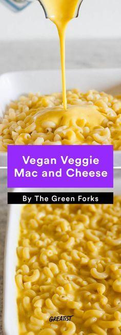 #Vegan Veggie Mac and Cheese  #recipe http://greatist.com/eat/vegan-mac-and-cheese-recipes-for-your-dairy-free-friends