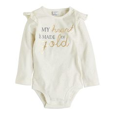 Bodysuit with Frills, White, Tops, Kids | Lindex