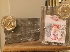 Rustic Soul Designs Wood Picture Frame - 5x7, Tabletop Frame, Shabby Chic…