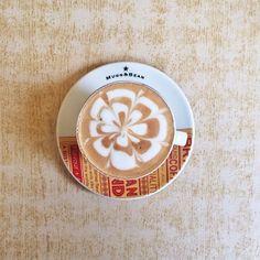 The Monday morning @Mugg_and_Bean. I love coffee. And alliteration. #coffee (at Mugg & Bean)