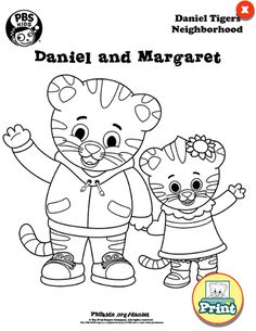 Did You Know Can Find Free Daniel Tigers Neighborhood Coloring Sheets Online