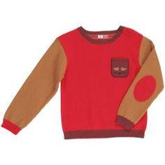 Jersey para niño...colores y estilo de moda!