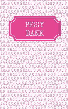 My piggy bank for 2013!  #maydesignscontest