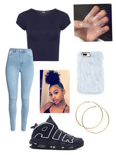"""Baddie‼️"" by aniyah100 on Polyvore featuring WearAll, NIKE and Skinnydip"