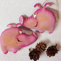 Хрюшки-подружки кофейные игрушки. #подарок #сувениры #текстильныеигрушки #ароматныеигрушки #хрюшка #кофейныеигрушки