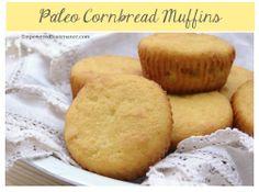 Paleo Cornbread Muffins #glutenfree #grainfree #paleo