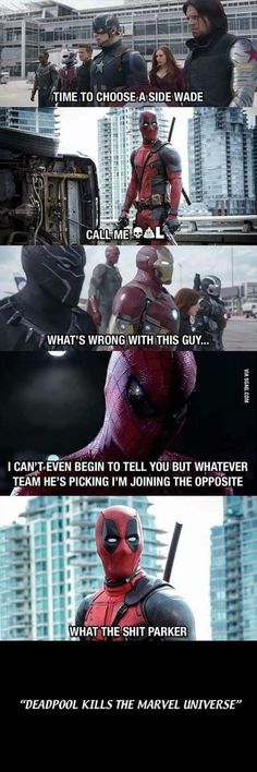 what if deadpool was in the MCU lol #fun #funny #funny_memes #funny gif #funny_videos #funny_pictures #funny_photos