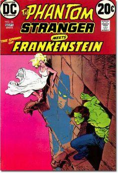 The Phantom Stranger Meets Frankenstein