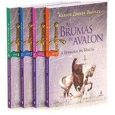 As Brumas De Avalon - 4 Volumes - coleção COMPLETA :: Serginho-sucesso