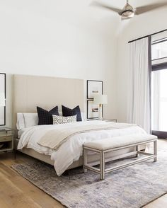 It is crucial to have a bedroom where you feel good, cozy and classy, to end and start each day as inspired as ever. Find ideas that fit your style with Covet House! #bedroom #designinspiration #homedecor #interiordesign