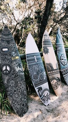 A collection of my custom designed surfboards for home and business decor. To enquire about a custom surfboard artwork email: … Roxy Surf, Surf Mar, Beach Aesthetic, Summer Aesthetic, Surfs Up, Surf Table, Decoration Surf, Custom Surfboards, Surfboard Art