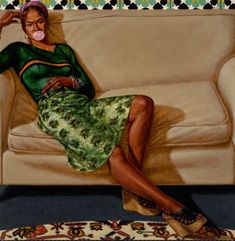 Before Kehinde Wiley, there was Barkley L. Hendricks: magnificent portraits of African-Americans African American Art, American Artists, African Art, Caricatures, Kehinde Wiley, Black Artists, Male Artists, Museum Of Modern Art, Land Art