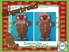 Gingerbread craft, both boy and girl.