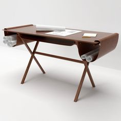 Oscar desk by Giorgio Bonaguro http://www.woodz.co/oscar-desk-by-giorgio-bonaguro/