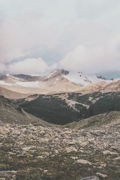 Mount Marpole, photo by Luke Gram, scenery, landscapes, nature, mountains, forests
