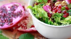 Rocco DiSpirito's Leafy Green Salad with Creamy Almond Dressing and Radishes | The Dr. Oz Show