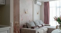 Stil clasic feminin intr-un apartament de 3 camere Curtains, Home Decor, Blinds, Decoration Home, Room Decor, Interior Design, Draping, Home Interiors, Net Curtains
