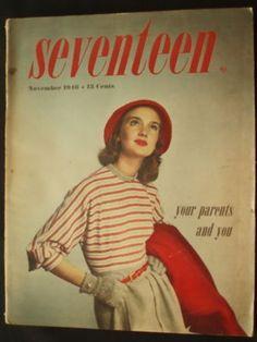 November 1946 cover by the late Francesco Scavullo