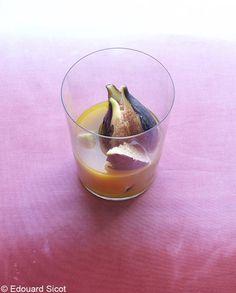 Soupe de figues pour 4 personnes - Recettes Elle à Table