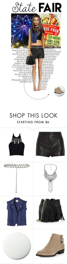 """""""State Fair Outfit #1"""" by doris-knezevic ❤ liked on Polyvore featuring Posh Girl, Pierre Balmain, New Look, Rebecca Taylor, Whistles, Pure Home, statefair and summerdate"""