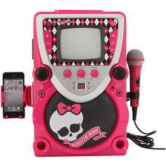 walmart karaoke machine high